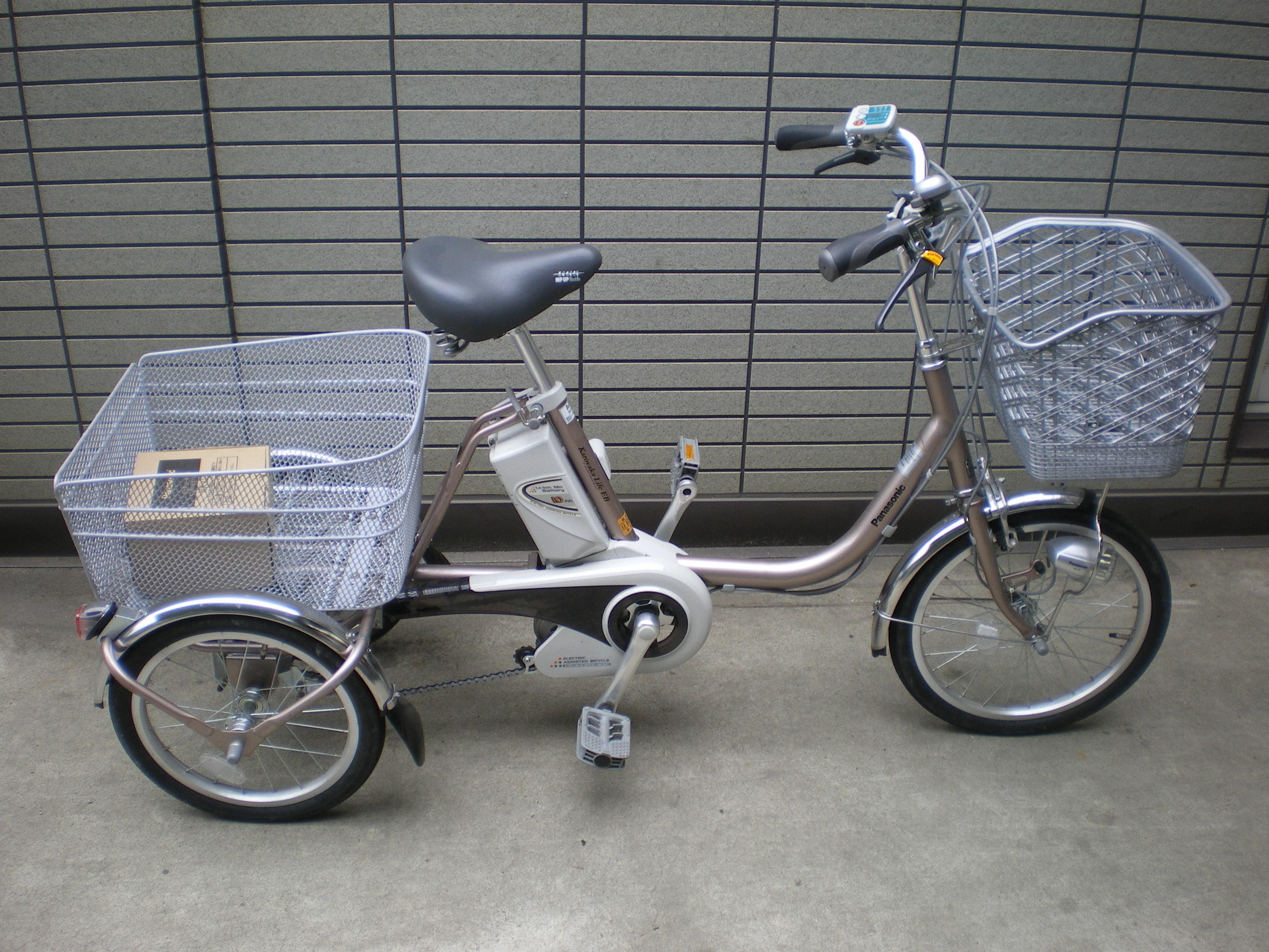中古自転車 中古自転車 京都 : 三輪車入荷 | 京都の中古自転車 ...