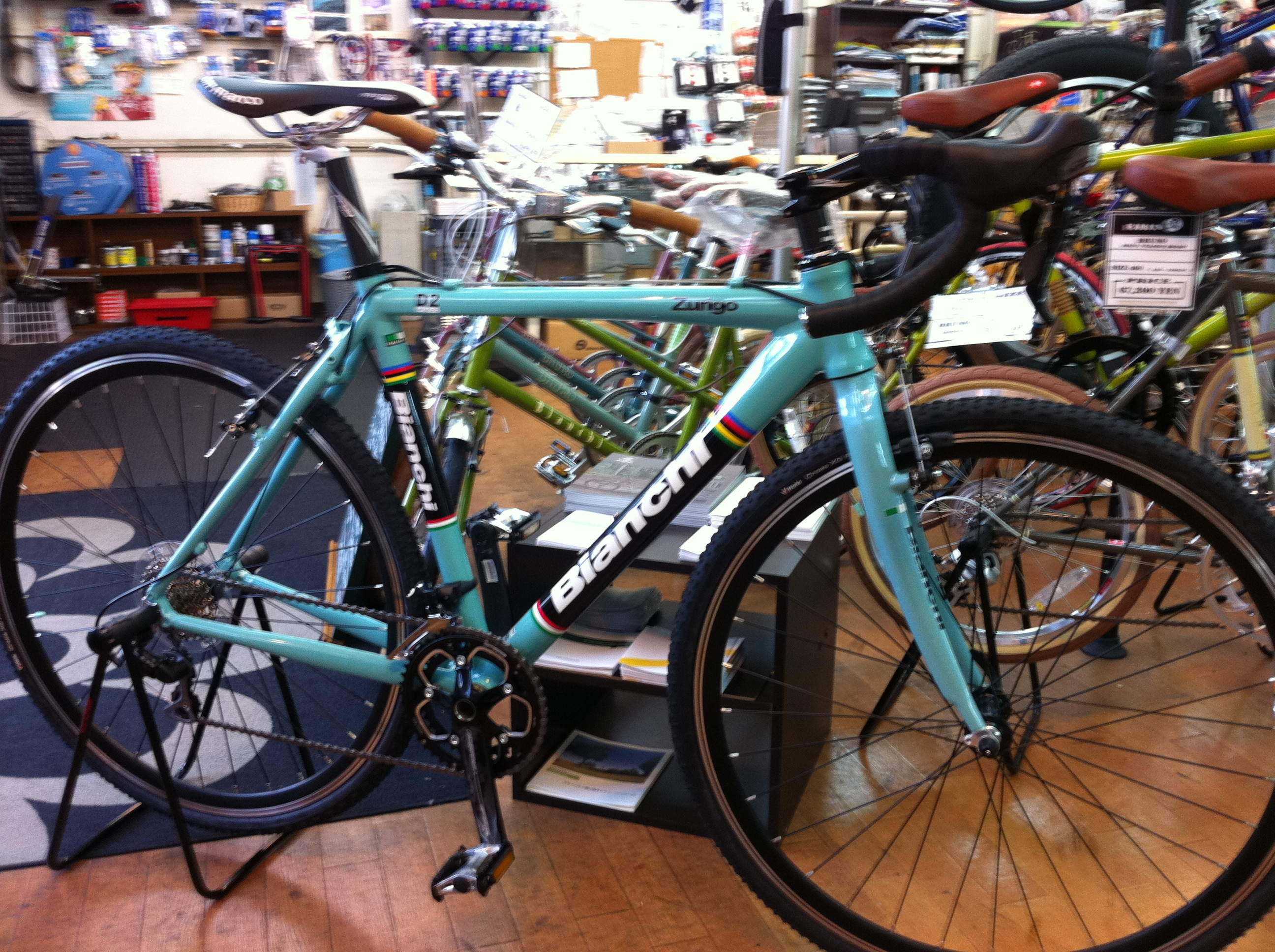自転車の ビアンキ 自転車 中古 : Bianchi Zurigo Cyclocross