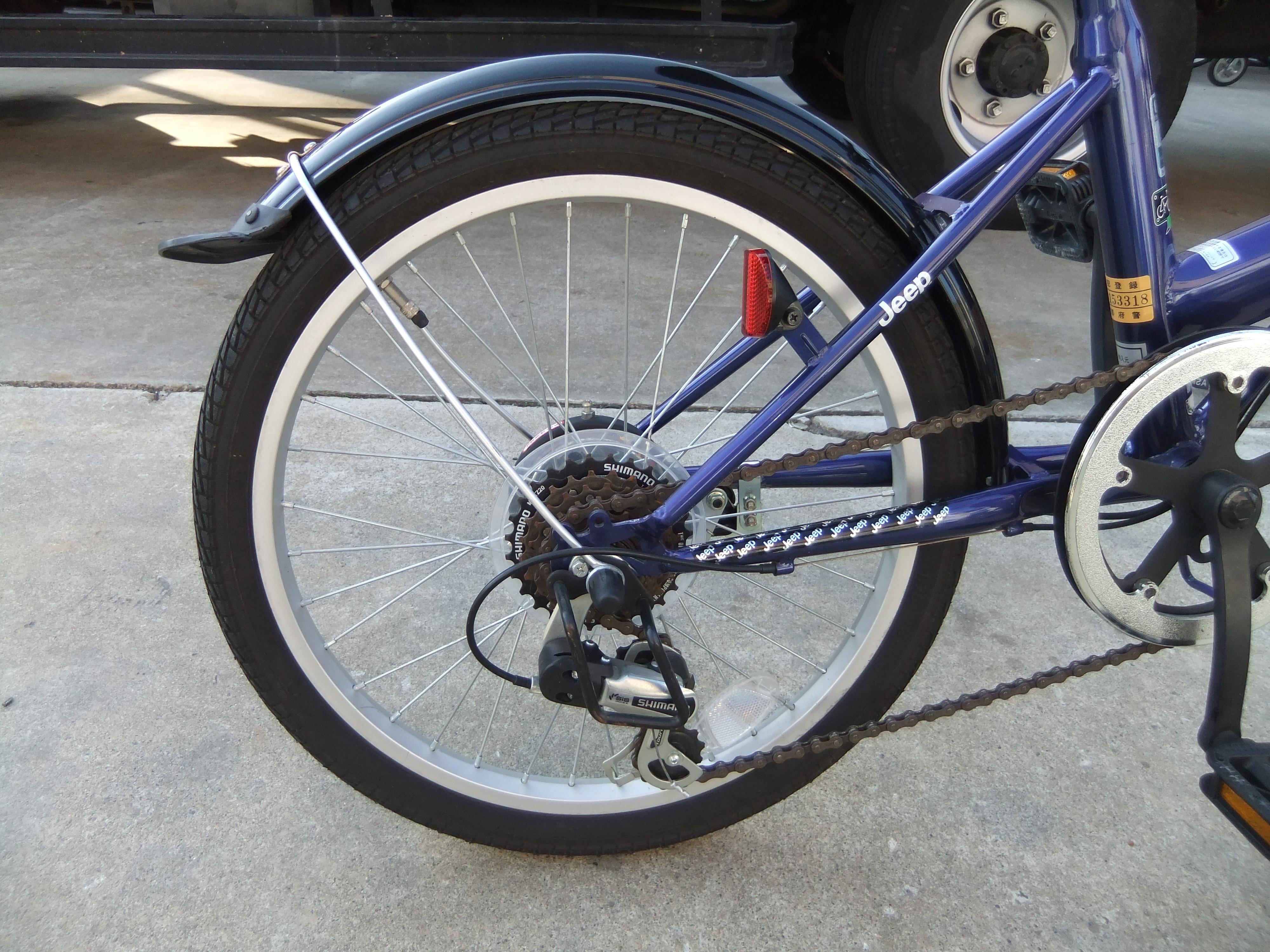 きれいに再生し、中古自転車と ...