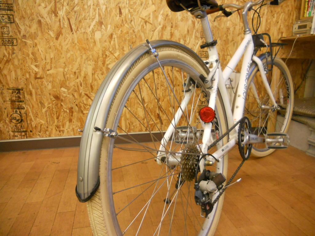 自転車の 自転車 サドル 上げ方 : こちらのTR2にはフェンダー ...