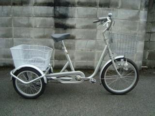 超美品!!!三輪自転車なう!!!
