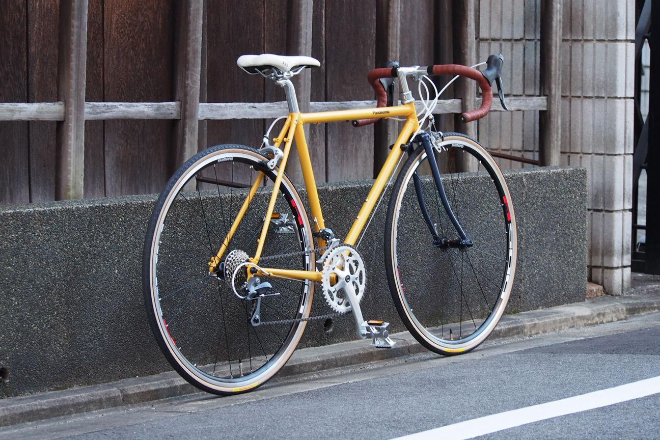 自転車の パナソニック 自転車 オーダーメイド : ... オーダーメイドバイクのせいか