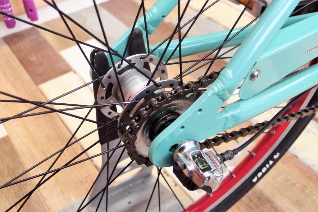 中古自転車 コミューターバイク BIANCHI MILANO PARCO/ミラノパルコ