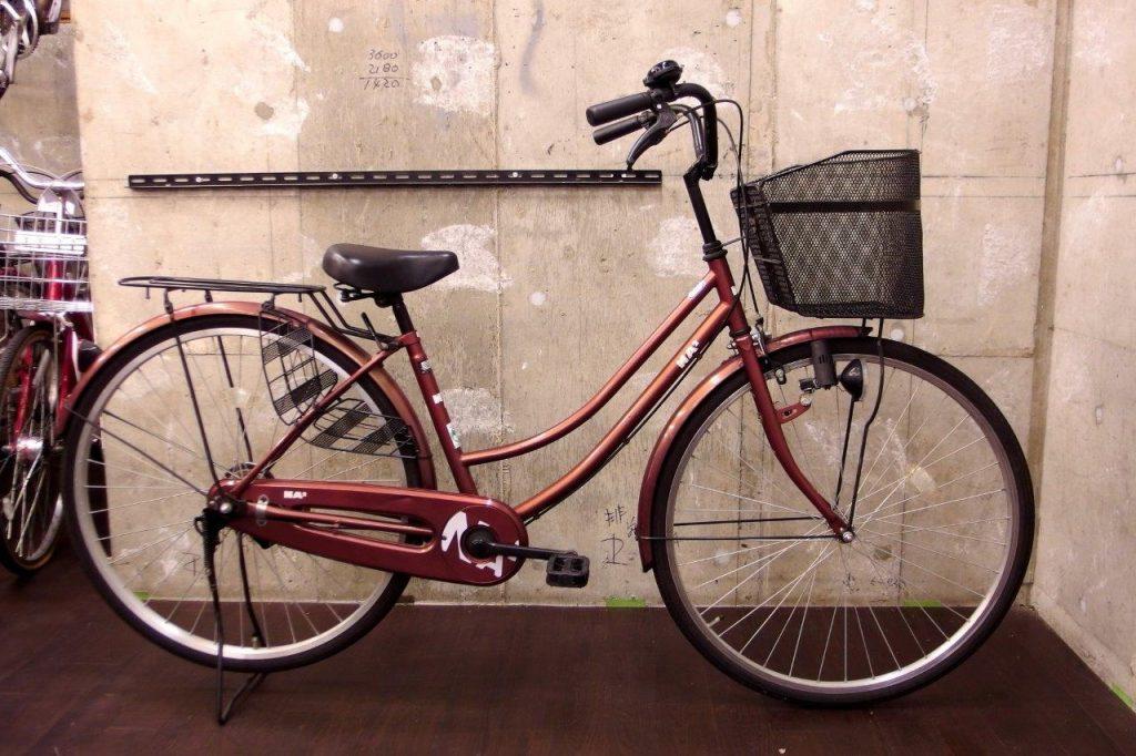 【激安!一万円以下の中古自転車】気軽に乗れる普段使いの自転車
