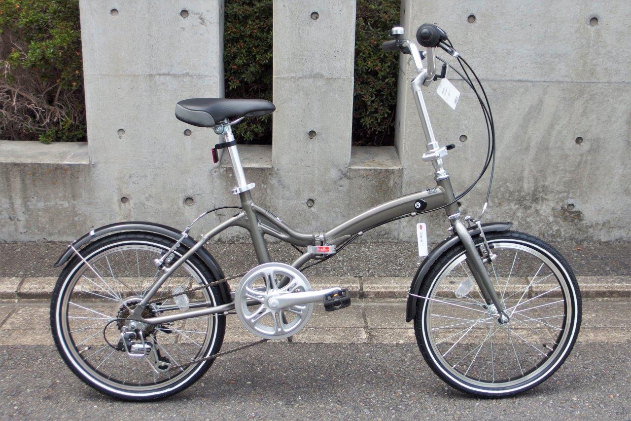 軽い折り畳み自転車 アサヒサイクル Glamorous/グラマラス (1)